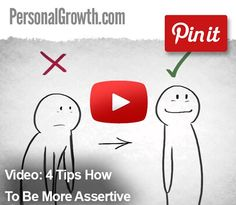 Video: 4 Tips How To Be More Assertive
