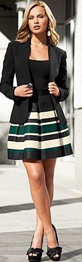 jacket and skirt ♥✤ | Keep the Glamour | BeStayBeautiful