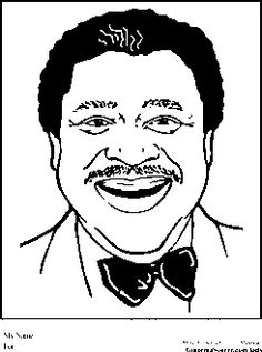 b b king coloring pages black history month