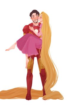 If Stylized cartoon characters is your love Punziella on is where you… Rapunzel Story, Disney Rapunzel, Arte Disney, Disney Fan Art, Cartoon Fan, Cartoon Characters, Disney Movies, Disney Pixar, Punziella