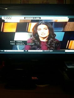 Molly Qerim in Espn First Take