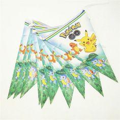 Kult Pokemon Banner til bursdag og fest!