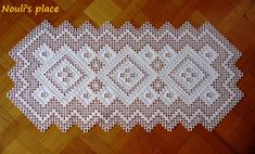 Annual Hardanger Embroidery Design
