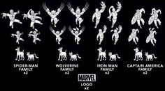 Des PAWSUM Marvel Superhero Family Car Decals can be urs. Marvel Logo, Marvel Comics, Family Car Decals, Superhero Family, Stick Family, Iron Man Captain America, The Dark World, About Time Movie, Man Of Steel