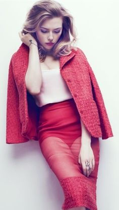 Scarlett Johansson - Marie Claire May 2013