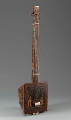Lute (tambura)  , 19th century - South Asian
