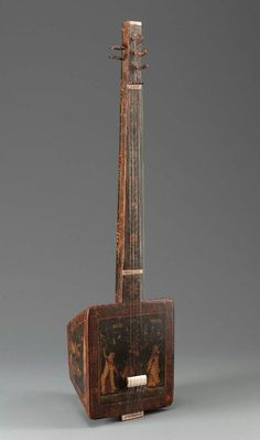 Lute (tambura)  , 19th century - South Asian