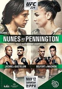 Find Out What Happened In The Main Events Ufc 224 Ufc224engol Ufc224 Ufc Mma Martialarts Sports Ufc Ufc Poster Ufc Fight Night