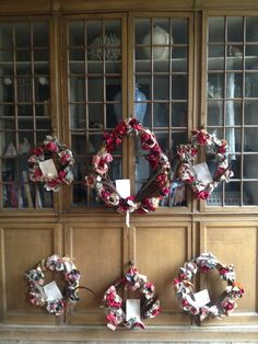 Hand made Christmas Wreaths from Vintage materials and treasures found along the way. Ready for Delivery.