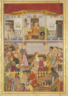 Jahangir Receives Prince Khurram at Ajmer on His Return from the Mewar Campaign