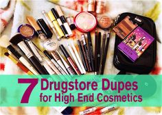 7 Drugstore Dupes for High End Cosmetics | GirlsGuideTo
