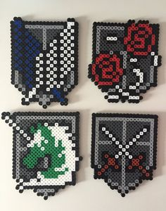 Attack on Titan Crests: The Survey Corps The by PixelPrecious