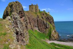 Inglaterra Castelo Rocha Dunnottar Castle Cidades