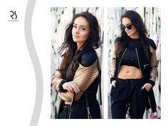 Sportowa elegancja według blogerki Sylwii Nowak? Odwiedźcie jej bloga:  http://www.sylwianowak.com/golden-black/ i zobaczcie stylizację z czarno-złotą bluzą RS w roli głównej!