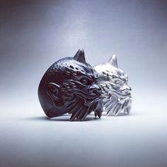 Work in progress. #horiyoshi3 #collaboration #oni #ring #jewelry #silverjewelry #sculpture #creepjewelry