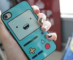 Beemo phone case? PLEASE BUY ME THIS. I love Adventure Time.
