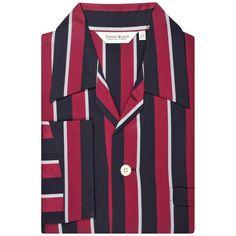 Derek Rose Regimental RAF Cotton Pyjamas - Multi-colour | Derek Rose Multi-colour Pyjamas | KJ Beckett