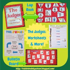Bible Fun For Kids: The Judges
