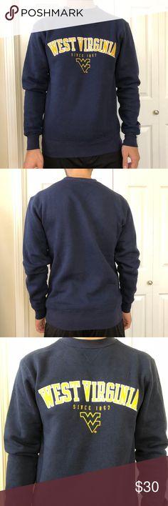 aa2a8cc9457005 Champion West Virginia University WVU Sweatshirt S