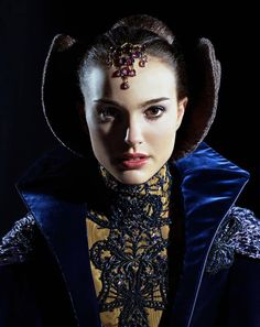 STAR WARS Natalie Portman  Costumes designed by Trisha Biggar