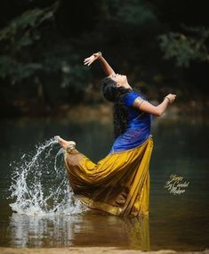 Girl Photo Poses, Girl Photos, Blue Roses, South India, Indian Beauty Saree, Indian Designer Wear, Kerala, Tie Dye Skirt, Cute Girls