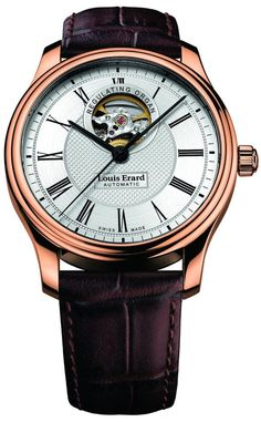 Men watches : Louis Erard Gold Collection Swiss Automatic Silver Dial Men's Watch 60267PR41