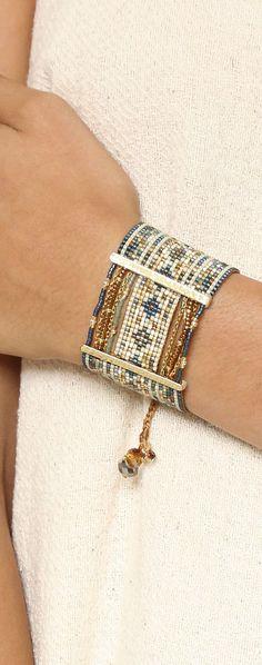 Bracelet Manchette tendance 2017 Miyuki: