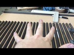 Building mini Parrilla grill part1- Cooking grate - YouTube