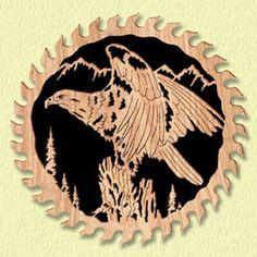 Majestic Eagle Circle Saw Project Pattern