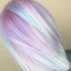 30 Cool Summer Rainbow Hair Color Ideas
