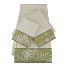 Sherry Kline Loiza Embellished 3-piece Towel Set - Overstock™ Shopping - Top Rated Sherry Kline Bath Towels