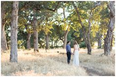 Golden Hour Engagement Portrait Session   couple having their engagement photos taken in Chico California in the hot summer