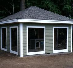 Customer Dog Kennels Photos, Dog Kennel Reviews and Comments about Dog Kennels by Options Plus.