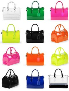 Candy Furla Bag... Want in every color