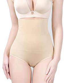 aad748161f ICE Womens Shapewear High Waist Tummy Control Panties Sexy Shapewear  Panties Bodysuit HiWaist Waisted Briefs Butt Lifter Waist Beige -- You can  find more ...