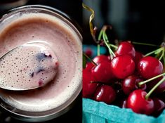 Cherry Almond Smoothie Recipe - NYT Cooking 12 cherries, pitted about 3 ounces ¼ cup almond meal, also called almond flour or almond powder 3/4 ounce ¼ teaspoon almond extract ½ cup almond beverage or milk ½ plum or peach 1 teaspoon agave nectar 3 ice cubes