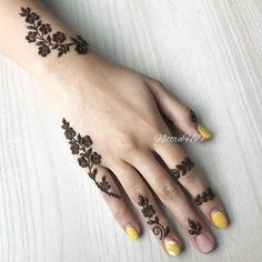 Amazing Advice For Getting Rid Of Cellulite and Henna Tattoo… – Henna Tattoos Mehendi Mehndi Design Ideas and Tips Henna Tattoo Designs Simple, Finger Henna Designs, Unique Mehndi Designs, Mehndi Designs For Fingers, Mehndi Simple, Beautiful Henna Designs, Latest Mehndi Designs, Tattoo Simple, Simple Hand Henna