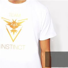 37c6289bd81a1 Pokemon Go Team Valor Mystic Instinct Tee Summer Tshirts