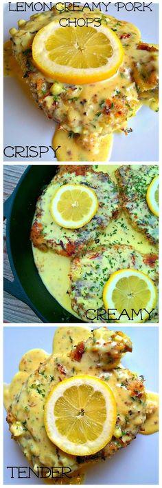 Lou Lou Girls : Lemon Creamy Pork Chops
