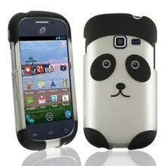 INSTEN For Samsung Galaxy Discover S730g/Galaxy Centura S738c Rubberized Case - Panda Bear