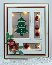 Happy Tuesday, I hope all of you enjoyed the launch of the festive dies ODS last night. I haver to admit that working with christmas dies is my favourite time of the year! Another demo form todays sh Handmade Christmas, Christmas Crafts, Christmas Decorations, Christmas Ornaments, Christmas 2016, Die Cut Christmas Cards, Xmas Cards, Greeting Cards, Sue Wilson