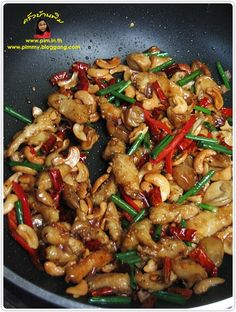 Thai Recipes, Easy Dinner Recipes, Easy Meals, Cooking Recipes, Food N, Food And Drink, Chicken And Cashew Nuts, Thai Dishes, No Cook Meals
