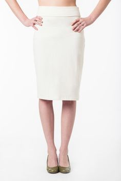 Our Hemp and Organic Cotton Pencil Skirt is a staple wardrobe item for all occasions Natural Clothing, Organic Cotton, High Waisted Skirt, Summer Styles, Hemp, Skirts, Pencil, Clothes, Spring