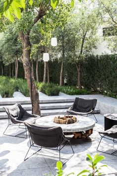 Most up-to-date Photos contemporary Garden Seating Suggestions Outdoor spaces and patios beckon, specially when the next wind storm gets warmer. To start with, the Modern Backyard, Modern Landscaping, Backyard Patio, Backyard Landscaping, Nice Backyard, Landscaping Ideas, Design Patio, Modern Garden Design, Landscape Design