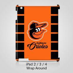 Baltimore Orioles Logo iPad 2 3 4 Case Cover