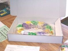 Party Palace King Cakes...the BEST King Cake I have ever had.