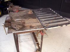 welding table started - The Garage Journal Board