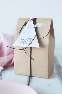 Rocky Road free Gift Tag & Recipe | by Polkadot Prints for Sweet Style