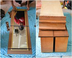 DIY Tile Mirror, how to make a mirror with tile frame, elmer's probond advanced