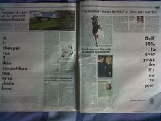 Brilliant creative and media placement for a VW newspaper ad.